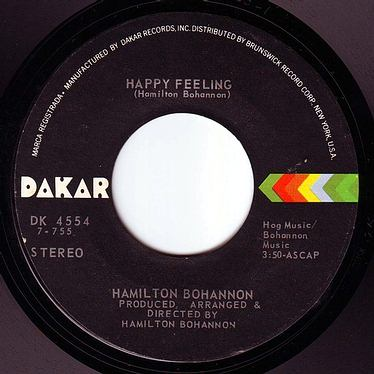 HAMILTON BOHANNON - HAPPY FEELING - DAKAR