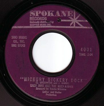 BABY JANE & THE ROCK-A-BYES - HICKORY DICKERY DOCK - SPOKANE