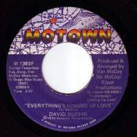 DAVID RUFFIN - EVERYTHING'S COMING UP LOVE - MOTOWN