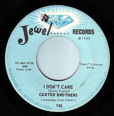 CARTER BROTHERS - I DON'T CARE - JEWEL