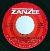 C & THE SHELLS - FUNKY TAMBORINE - ZANZEE