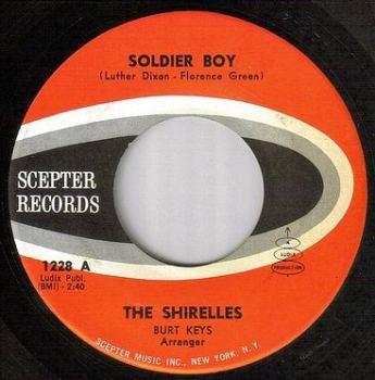SHIRELLES - SOLDIER BOY - SCEPTER