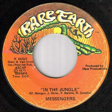 MESSENGERS - IN THE JUNGLE - RARE EARTH