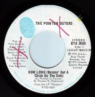 POINTER SISTERS - HOW LONG - BLUE THUMB