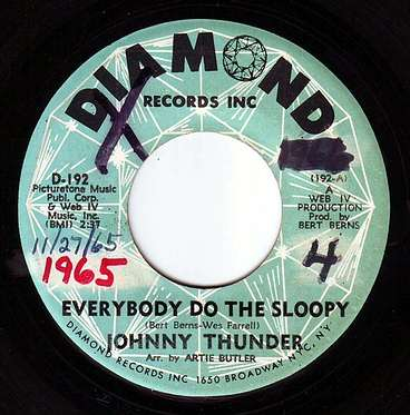 JOHNNY THUNDER - EVERYBODY DO THE SLOOPY - DIAMOND