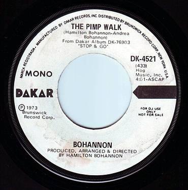 BOHANNON - THE PIMP WALK - DAKAR DEMO