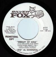 BIG AL DOWNING - MEDLEY OF SOUL - SILVER FOX DEMO
