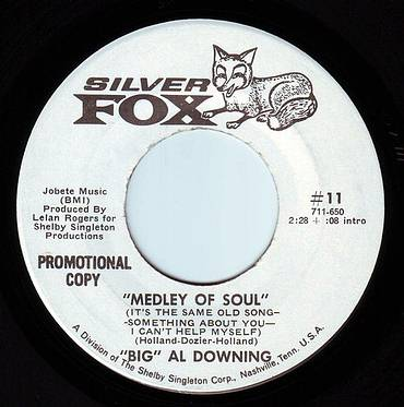 BIG AL DOWNING - MEDLEY OF SOUL - SILVER FOX DEMO