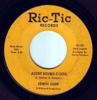 EDWIN STARR - AGENT DOUBLE-O-SOUL - RIC-TIC