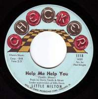 LITTLE MILTON - HELP ME HELP YOU - CHECKER