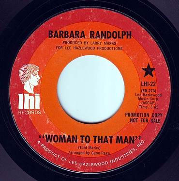 BARBARA RANDOLPH - WOMAN TO THAT MAN - LHI DEMO