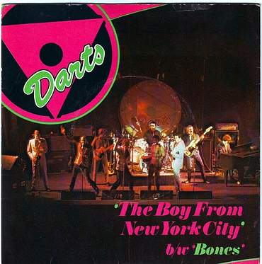 DARTS - THE BOY FROM NEW YORK CITY - MAGNET