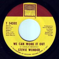 STEVIE WONDER - WE CAN WORK IT OUT - TAMLA