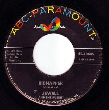 JEWELL & THE RUBIES - KIDNAPPER - ABC