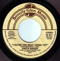 ANITA BAKER - YOU'RE THE BEST THING YET - BEVERLY GLEN