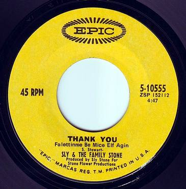 SLY & THE FAMILY STONE - THANK YOU falettin me be mice elf again - EPIC