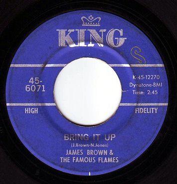 JAMES BROWN - BRING IT UP - KING