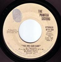 POINTER SISTERS - YES WE CAN CAN - BLUE THUMB