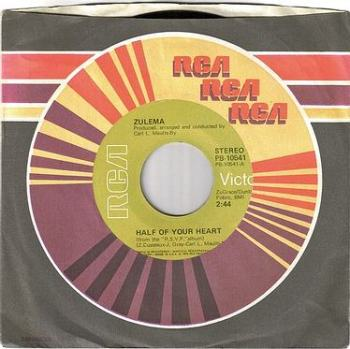 ZULEMA - HALF OF YOUR HEART - RCA