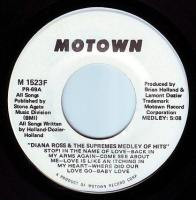 DIANA ROSS & THE SUPREMES - MEDLEY OF HITS - MOTOWN DEMO