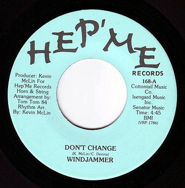 WINDJAMMER - DON'T CHANGE - HEP'ME