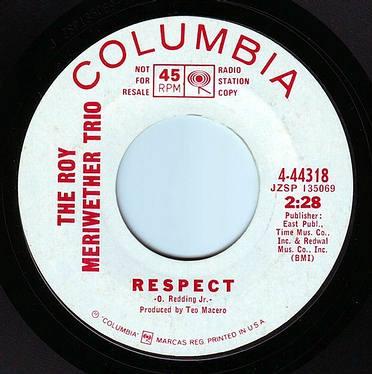 ROY MERRIWEATHER TRIO - RESPECT - COLUMBIA DEMO