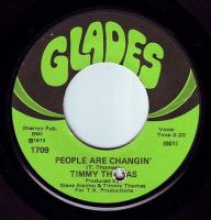 TIMMY THOMAS - PEOPLE ARE CHANGIN' - GLADES