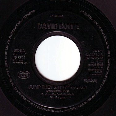 DAVID BOWIE - JUMP THEY SAY - BMG