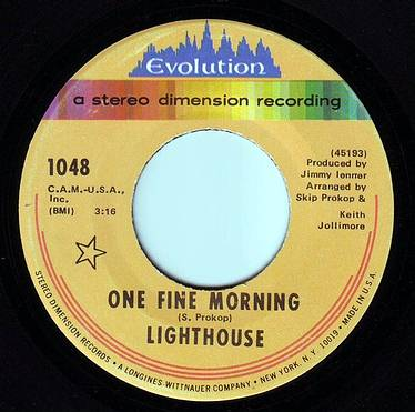 LIGHTHOUSE - ONE FINE MORNING - EVOLUTION