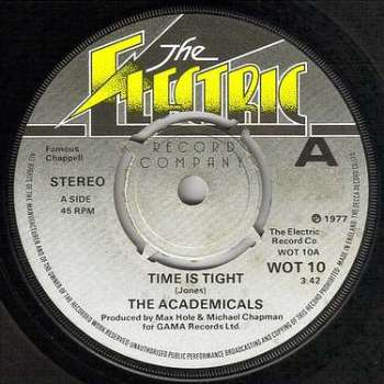 ACADEMICALS - TIME IS TIGHT - THE ELECTRIC