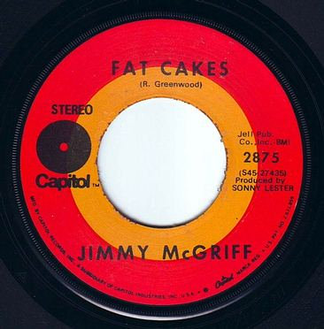 JIMMY McGRIFF - FAT CAKES - CAPITOL