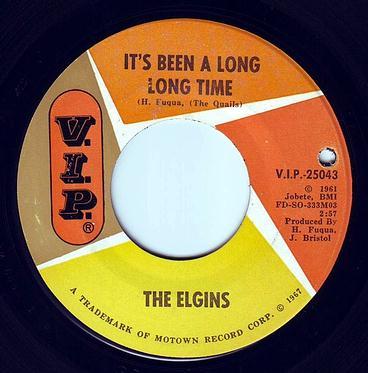 ELGINS - IT'S BEEN A LONG LONG TIME - V.I.P.