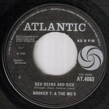 BOOKER T & MG's - RED BEANS AND RICE - ATLANTIC
