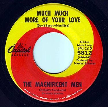 MAGNIFICENT MEN - MUCH MUCH MORE OF YOUR LOVE - CAPITOL