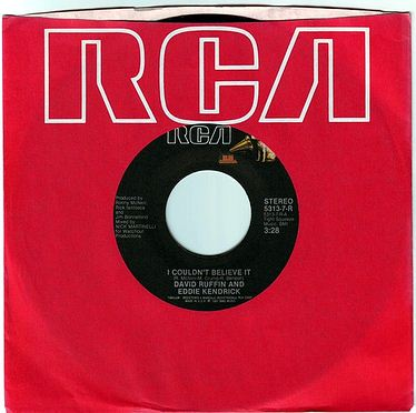 DAVID RUFFIN & EDDIE KENDRICKS - I COULDN'T BELIEVE IT - RCA