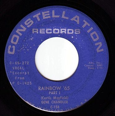 GENE CHANDLER - RAINBOW '65 - CONSTELLATION