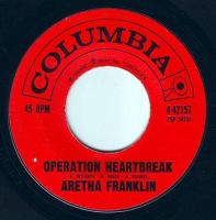 ARETHA FRANKLIN - OPERATION HEARTBREAK - COLUMBIA