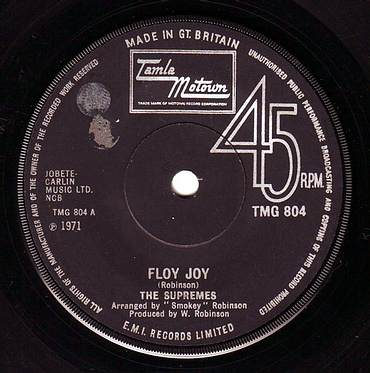 SUPREMES - FLOY JOY - TMG 804