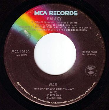 WAR - GALAXY - MCA