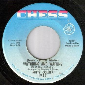 MITTY COLLIER - WATCHING AND WAITING - CHESS