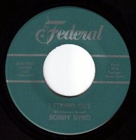 BOBBY BYRD - I FOUND OUT - FEDERAL