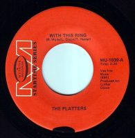 PLATTERS - WITH THIS RING - MUSICOR STARTIME
