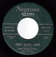 BABY WASHINGTON - DEEP DOWN LOVE - NEPTUNE