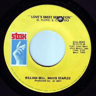 WILLIAM BELL & MAVIS STAPLES - LOVE'S SWEET SENSATION - STAX