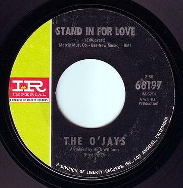 O'JAYS - STAND IN FOR LOVE - IMPERIAL