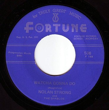 NOLAN STRONG - WATCHA GONNA DO - FORTUNE