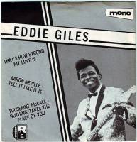 EDDIE GILES - THAT'S HOW STRONG MY LOVE IS - CHARLY EP