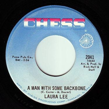 LAURA LEE - A MAN WITH SOME BACKBONE - CHESS