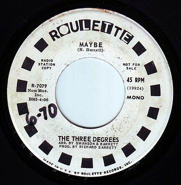 THREE DEGREES - MAYBE - ROULETTE DEMO