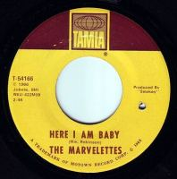 MARVELETTES - HERE I AM BABY - TAMLA
